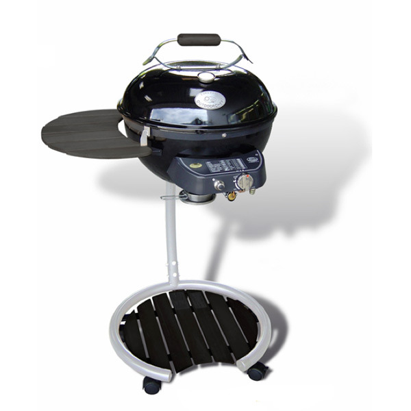 outdoorchef gas kugelgrill milano 480 in schwarz silber bbq entertainer. Black Bedroom Furniture Sets. Home Design Ideas