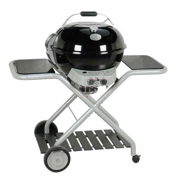 Outdoorchef gas kugelgrill montreux 570mx2 in schwarz for Weber kugelgrill zubehor
