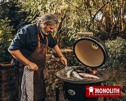 MONOLITH® Grill Shop